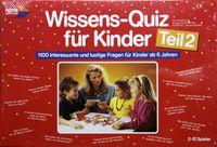Board Game: Wissens-Quiz für Kinder