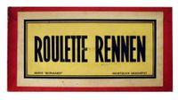Board Game: Roulette Rennen
