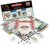 Board Game: Monopoly: San Francisco Giants