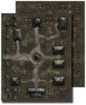 RPG Item: Gamemastery Flip-Mat: Necropolis