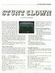 Video Game: Stunt Clown