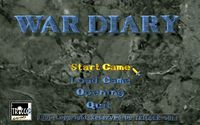 Video Game: War Diary