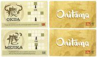 Board Game: Onitama: Mejika and Okija Promo Cards