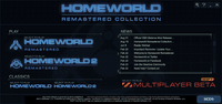 Video Game Compilation: Homeworld Remastered Collection