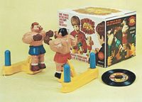 Board Game: Knuckle Busters