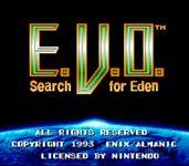 Video Game: E.V.O.: Search for Eden