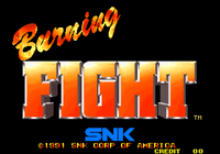 Video Game: Burning Fight