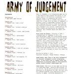 RPG Item: Army of Judgement