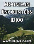 RPG Item: Mountain Encounters: 1D100