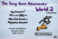 Video Game: The Fancy Pants Adventures: World 2