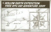 RPG Item: Hollow Earth Expedition Free RPG Day Adventure 2009