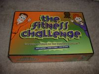 Board Game: The Fitness Challenge