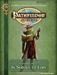 RPG Item: Pathfinder Society Scenario 3-00 Intro 1: In Service to Lore
