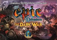 Board Game: Tiny Epic Defenders: The Dark War
