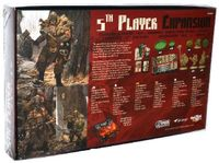 Board Game: Blood Rage: 5th Player Expansion