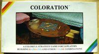 Board Game: Coloration