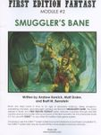 RPG Item: Smuggler's Bane (OSRIC)