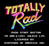 Video Game: Totally Rad