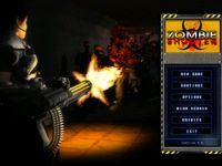 Video Game: Zombie Shooter