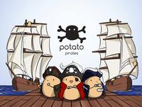 Board Game: Potato Pirates