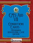 RPG Item: GM's Aid VII: Condition Cards – Pathfinder Roleplaying Game Edition