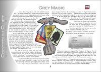RPG Item: Colours of Magic: Grey Magic