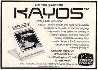 Video Game: Kayos