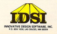 Video Game Publisher: Innovative Design Software, Inc. (IDSI)