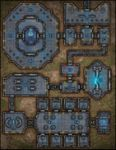 RPG Item: VTT Map Set 291: Advanced Research Facility