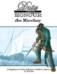 RPG Item: Duty & Honour 1810 Miscellany