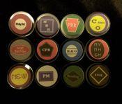 Board Game Accessory: 1830: Dividend Token