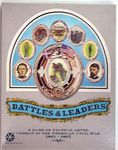 Board Game: Battles & Leaders: A Game of Tactical Level Combat in the American Civil War 1861-1865