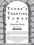 RPG Item: Tyman's Taunting Tower