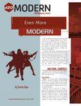 RPG Item: Even More Modern