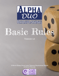 RPG Item: Alpha Duo Roleplaying Basic Rules
