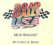 Board Game: Road Rally USA: Mud Boggin'