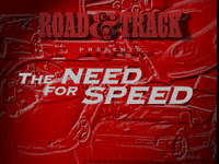 Video Game: The Need for Speed