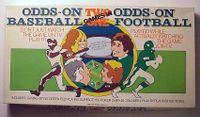 Board Game: Odds-On Baseball / Odds-On Football
