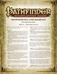 RPG Item: Pathfinder Roleplaying Game Core Rulebook Errata