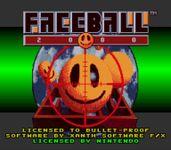 Video Game: Faceball 2000
