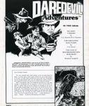 RPG Item: Daredevil Adventures Vol. 2 No. 3: Supernatural Thrillers Issue