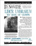 RPG Item: Liber Umbrarum