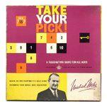 Board Game: Take Your Pick!