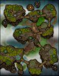 RPG Item: VTT Map Set 202: Isles in the Sky