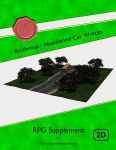 RPG Item: Battlemap: Abandoned Car Wrecks