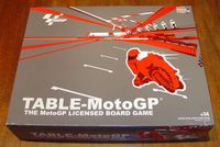Table-MotoGP: The Moto GP Licensed Board Game