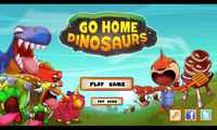 Video Game: Go Home Dinosaurs!