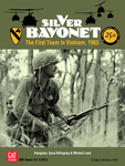 Board Game: Silver Bayonet: The First Team in Vietnam, 1965 (25th Anniversary Edition)