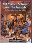 RPG Item: Mit Mantel, Schwert und Zauberstab