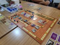 Board Game: In the Year of the Dragon